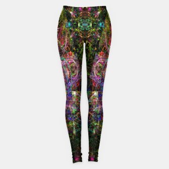 Thumbnail image of Third Mind Wiring (abstract, psychedelic) Leggings, Live Heroes