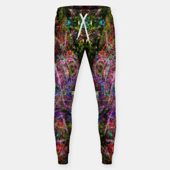 Thumbnail image of Third Mind Wiring (abstract, psychedelic) Cotton sweatpants, Live Heroes