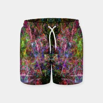 Thumbnail image of Third Mind Wiring (abstract, psychedelic) Swim Shorts, Live Heroes