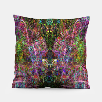 Thumbnail image of Third Mind Wiring (abstract, psychedelic) Pillow, Live Heroes