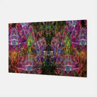 Thumbnail image of Third Mind Wiring (abstract, psychedelic) Canvas, Live Heroes