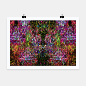 Thumbnail image of Third Mind Wiring (abstract, psychedelic) Poster, Live Heroes
