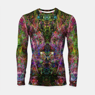 Thumbnail image of Third Mind Wiring (abstract, psychedelic) Longsleeve rashguard , Live Heroes