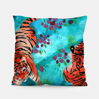 Thumbnail image of Tigers Pillow, Live Heroes