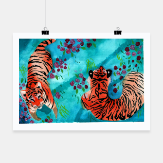 Thumbnail image of Tigers Poster, Live Heroes