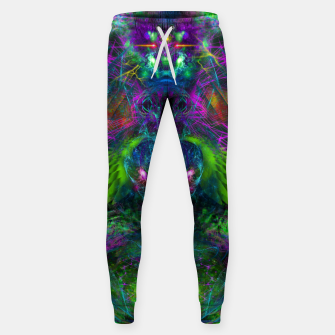 Thumbnail image of Evening Glory Vortex (psychedelic, visionary, psytrance, trippy) Cotton sweatpants, Live Heroes
