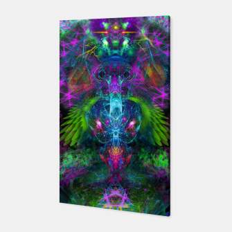 Thumbnail image of Evening Glory Vortex (psychedelic, visionary, psytrance, trippy) Canvas, Live Heroes