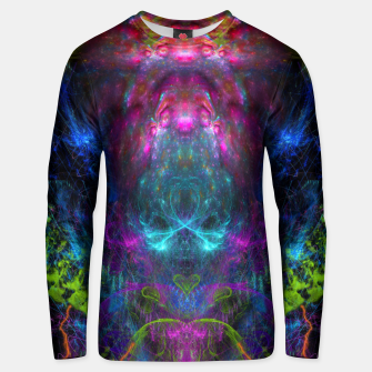 Miniatur Thunder Exhalation (visionary, psychedelic, totem, psyart) Cotton sweater, Live Heroes