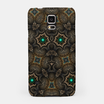 Miniatur Ticorian Loops Samsung Case, Live Heroes