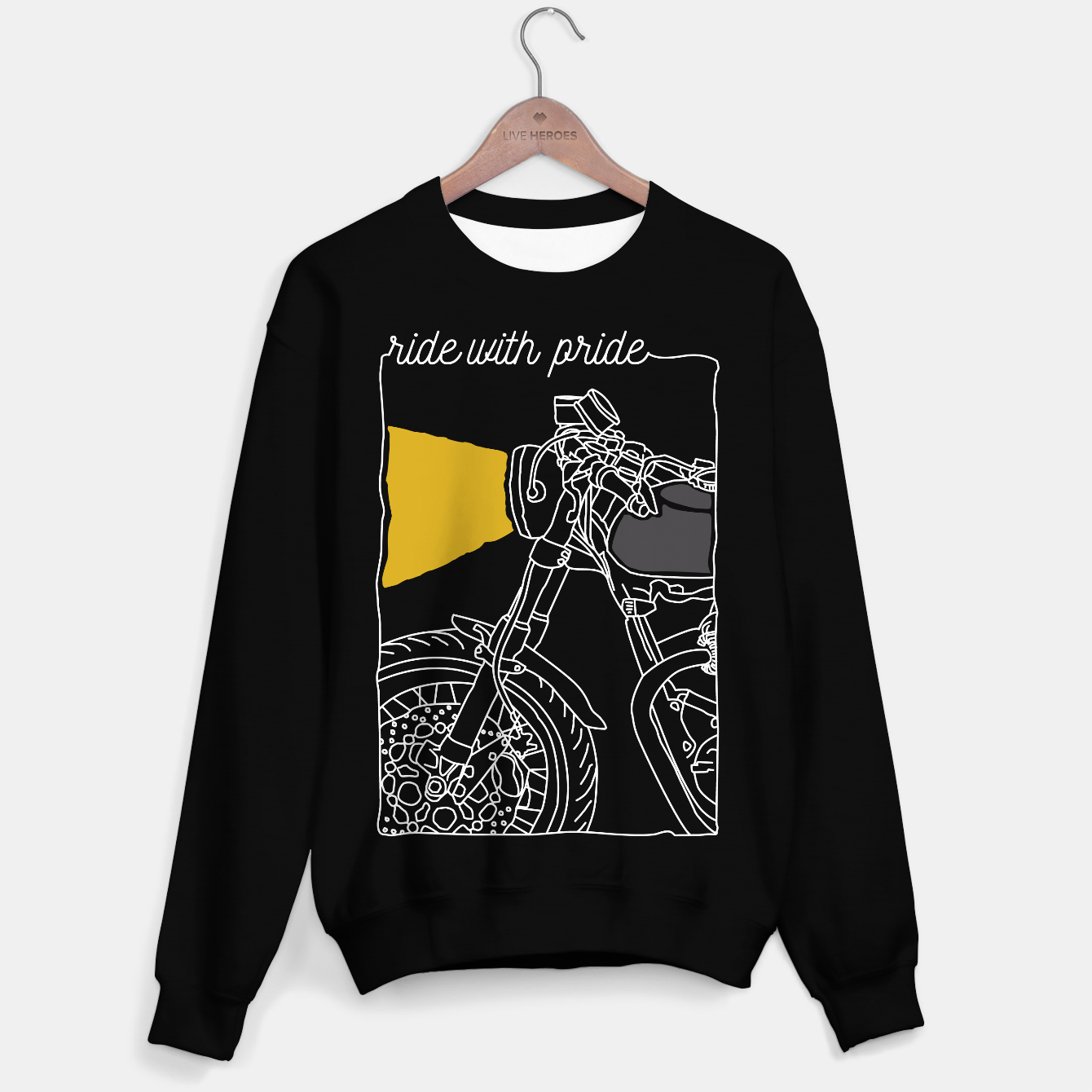 Foto Ride with pride Sweater regular - Live Heroes