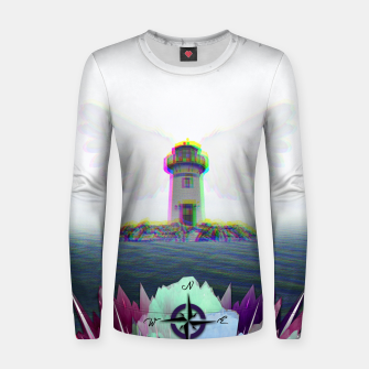 Thumbnail image of GUIDE ME TO THE HEAVEN Sudadera de algodón para mujer, Live Heroes
