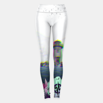 Thumbnail image of GUIDE ME TO THE HEAVEN Leggings, Live Heroes