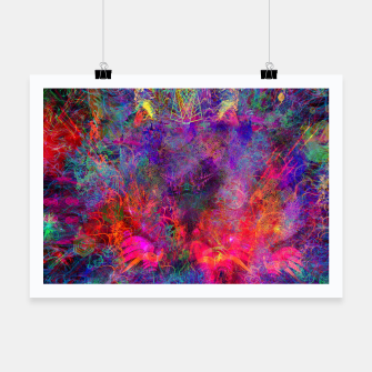 Thumbnail image of Seahorse Cove (abstract, underwater, sea life) Poster, Live Heroes