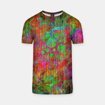 Thumbnail image of Space Ether (abstract, psychedelic) T-shirt, Live Heroes
