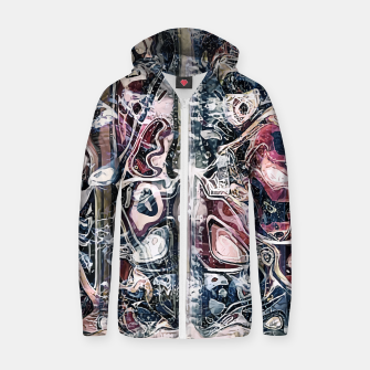 Thumbnail image of Anatomia Cotton zip up hoodie, Live Heroes