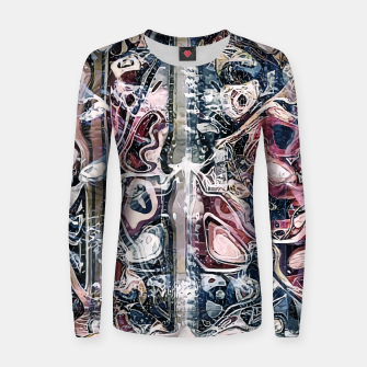 Thumbnail image of Anatomia Woman cotton sweater, Live Heroes