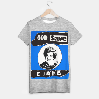 Thumbnail image of God save Diana T-shirt regular, Live Heroes