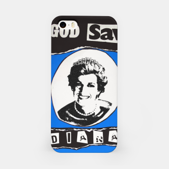 Thumbnail image of God save Diana iPhone Case, Live Heroes