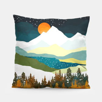 Thumbnail image of Winters Night Pillow, Live Heroes