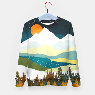 Thumbnail image of Winters Night Kid's sweater, Live Heroes