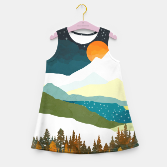 Thumbnail image of Winters Night Girl's summer dress, Live Heroes
