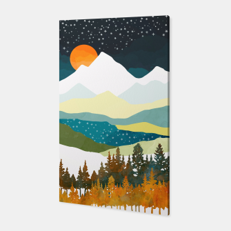 Thumbnail image of Winters Night Canvas, Live Heroes