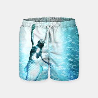 Thumbnail image of Bubbles (Mermaid under Water) Badeshorts, Live Heroes