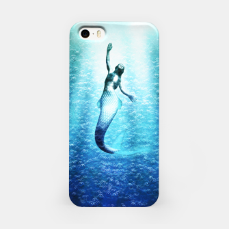 Thumbnail image of Bubbles (Mermaid under Water) iPhone-Hülle, Live Heroes