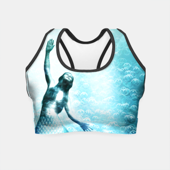 Thumbnail image of Bubbles (Mermaid under Water) Crop Top, Live Heroes