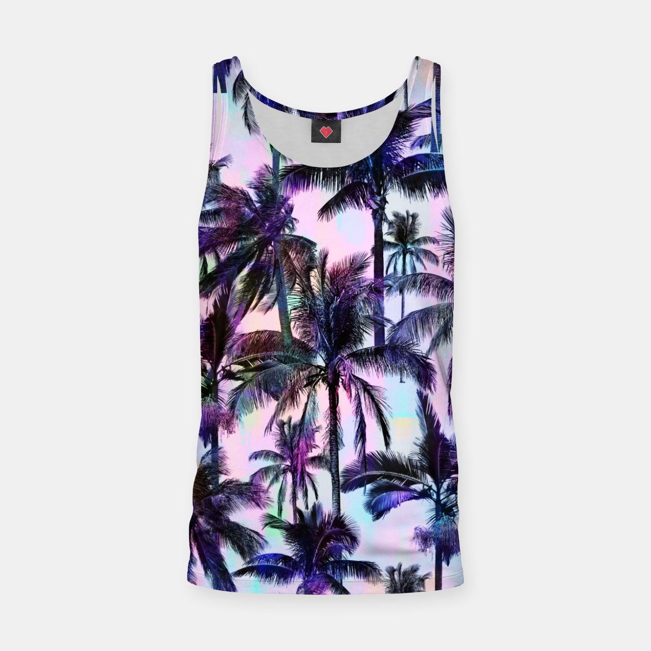 Image de Scenic Statements Palm Tank Top - Live Heroes