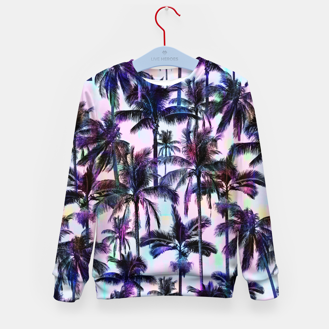 Image de Scenic Statements Palm Kid's sweater - Live Heroes