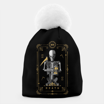Thumbnail image of Death XIII Tarot Card Beanie, Live Heroes