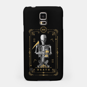 Thumbnail image of Death XIII Tarot Card Samsung Case, Live Heroes