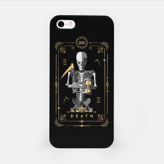 Thumbnail image of Death XIII Tarot Card iPhone Case, Live Heroes