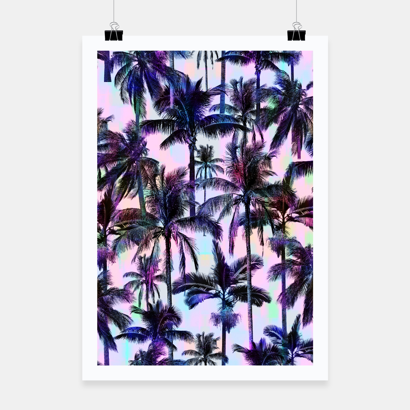 Image de Scenic Statements Palm Poster - Live Heroes
