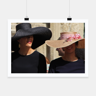 Thumbnail image of Beauties Beautiful Fashion Fashionable Hats Women Ladies Portrait amyrogers, Live Heroes