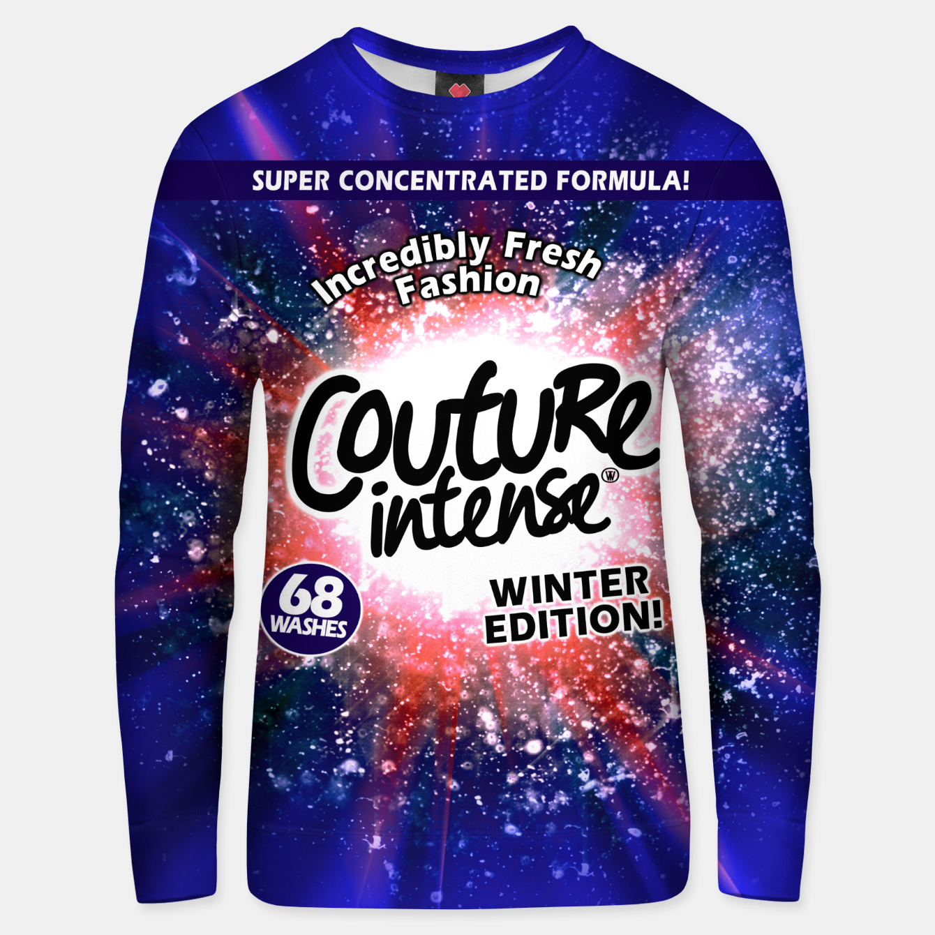 Image of Detergent Sweater (Winter Edition) - Live Heroes