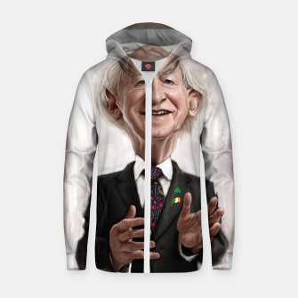 Thumbnail image of MD Higgins Cotton zip up hoodie, Live Heroes