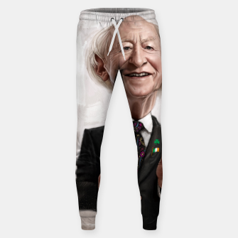 Thumbnail image of MD Higgins Cotton sweatpants, Live Heroes