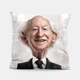 Thumbnail image of MD Higgins Pillow, Live Heroes