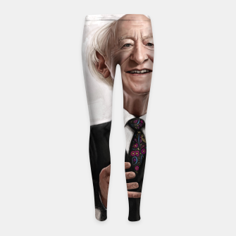 Thumbnail image of MD Higgins Girl's leggings, Live Heroes