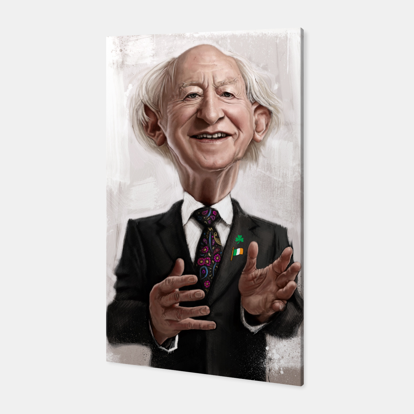 Image of MD Higgins Canvas - Live Heroes