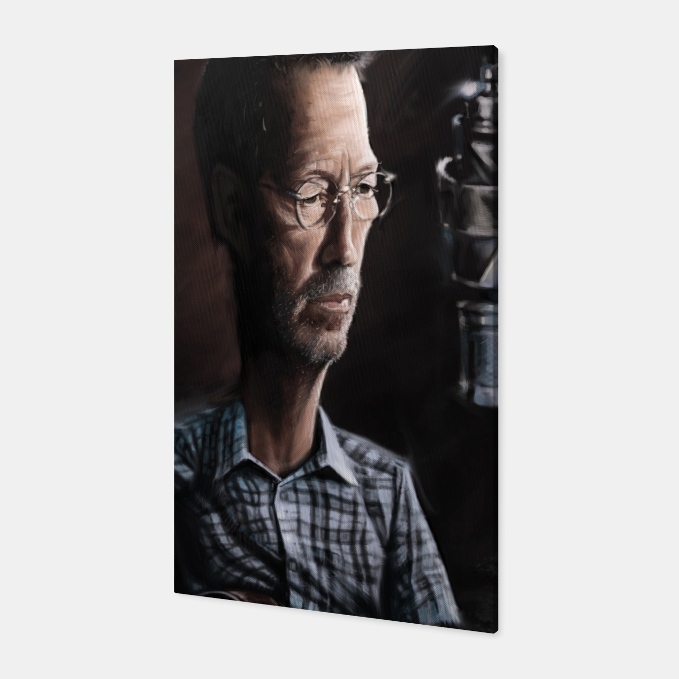 Image of Eric Clapton I Canvas - Live Heroes