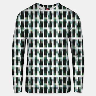Thumbnail image of Khaki pixelated pattern Cotton sweater, Live Heroes