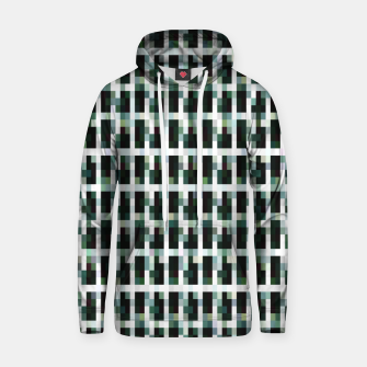 Thumbnail image of Khaki pixelated pattern Cotton hoodie, Live Heroes