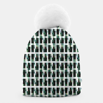 Thumbnail image of Khaki pixelated pattern Beanie, Live Heroes