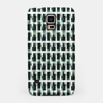 Thumbnail image of Khaki pixelated pattern Samsung Case, Live Heroes