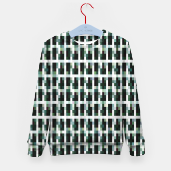Thumbnail image of Khaki pixelated pattern Kid's sweater, Live Heroes