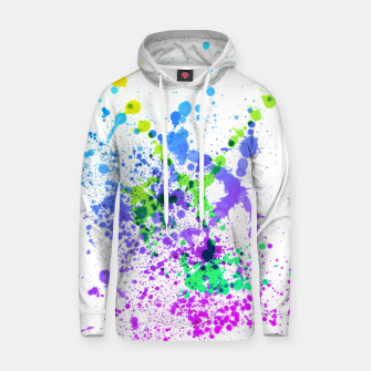 Thumbnail image of Multicolor Madness - Abstract Splatter Art Hoodie, Live Heroes