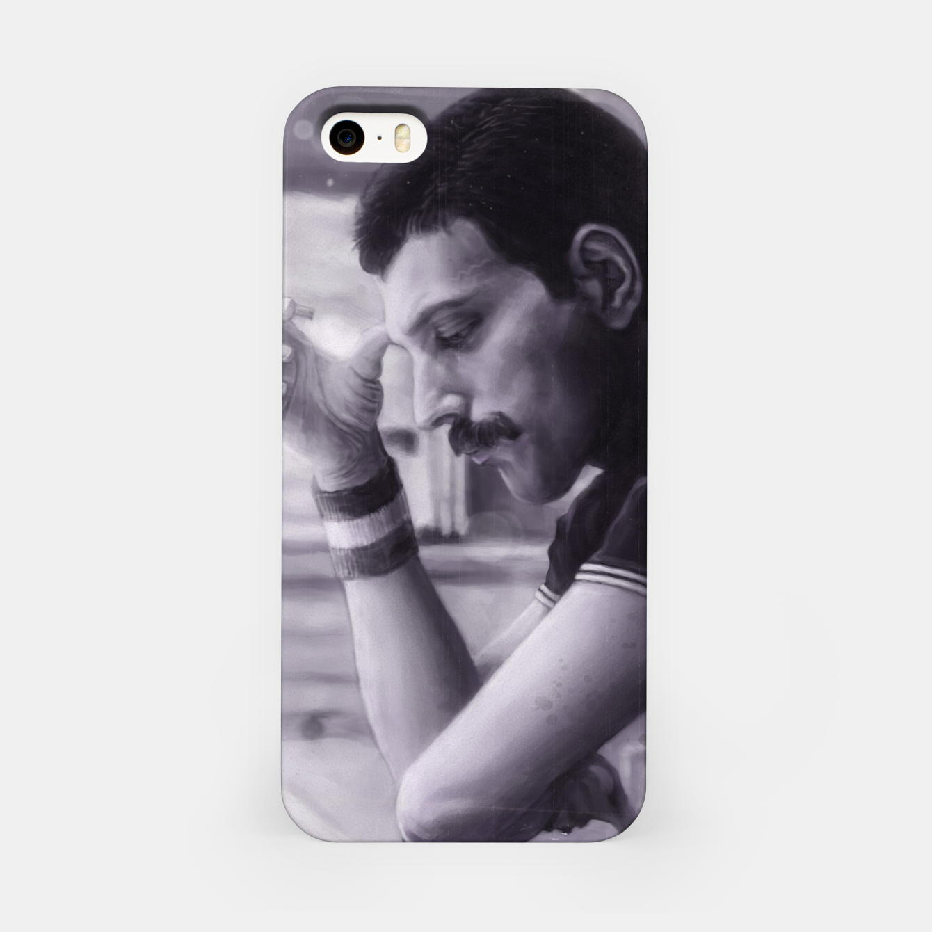Image of Freddie Mercury iPhone Case - Live Heroes